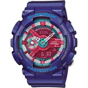 [カシオ]Casio 腕時計 GShock S Series AutoLED Purple/Red/Blue GMAS110HC2 GMAS110HC-2A [逆輸入]