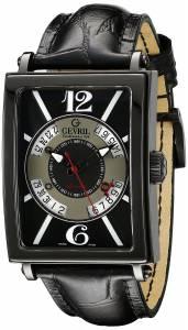 [ジェビル]Gevril 腕時計 Avenue Of Americas Analog Display Automatic Self Wind Black Watch 5050 メンズ [並行輸入品]