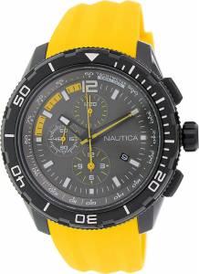 [ノーティカ]Nautica 腕時計 NST 101 Chrono Silicone Yellow watch N19629G メンズ [並行輸入品]
