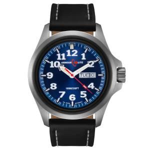 [アーマーライト]Armourlite 腕時計 Officer Series Watch Blue Dial Black Leather Band AL803 [並行輸入品]