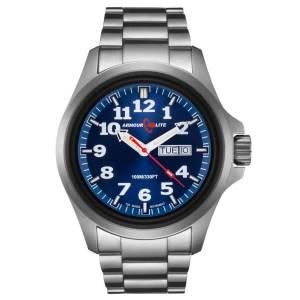 [アーマーライト]Armourlite 腕時計 Officer Series Stainless Steel Blue Dial Watch AL813 [並行輸入品]