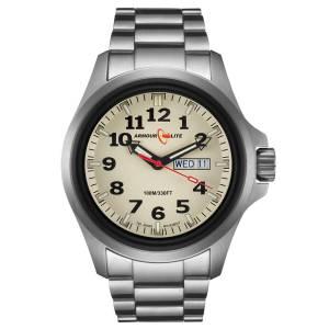 [アーマーライト]Armourlite 腕時計 Officer Series Stainless Steel Watch Beige Dial AL815 [並行輸入品]