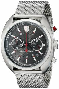 [フェラーリ]Ferrari 腕時計 Formula Sportiva Analog Display Quartz Silver Watch 830214 メンズ [並行輸入品]