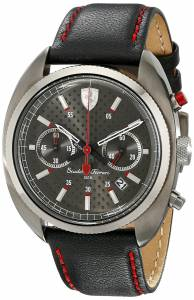 [フェラーリ]Ferrari 腕時計 Formula Sportiva Analog Display Quartz Black Watch 830209 メンズ [並行輸入品]