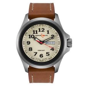 [アーマーライト]Armourlite 腕時計 Officer Series Stainless Steel Watch Leather Band AL805 [並行輸入品]