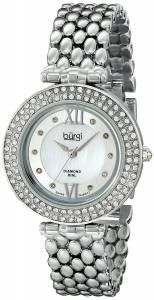 [バージ]Burgi 腕時計 Analog Display Swiss Quartz Silver Watch BUR126SS レディース [並行輸入品]