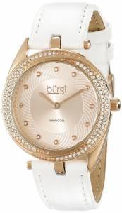 [バージ]Burgi 腕時計 Analog Display Japanese Quartz White Watch BUR122WTR レディース [並行輸入品]