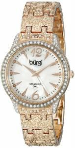[バージ]Burgi 腕時計 Analog Display Japanese Quartz Rose Gold Watch BUR127RG レディース [並行輸入品]