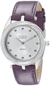 [バージ]Burgi 腕時計 Analog Display Japanese Quartz Purple Watch BUR122PU レディース [並行輸入品]