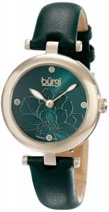 [バージ]Burgi 腕時計 Analog Display Japanese Quartz Green Watch BUR128GN レディース [並行輸入品]