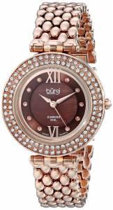 [バージ]Burgi 腕時計 Analog Display Swiss Quartz Rose Gold Watch BUR126RG レディース [並行輸入品]