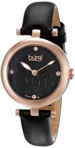 [バージ]Burgi 腕時計 Analog Display Japanese Quartz Black Watch BUR128BKR レディース [並行輸入品]