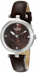 [バージ]Burgi 腕時計 Analog Display Japanese Quartz Brown Watch BUR128BR レディース [並行輸入品]