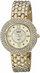 [バージ]Burgi 腕時計 Analog Display Japanese Quartz Gold Watch BUR125YG レディース [並行輸入品]