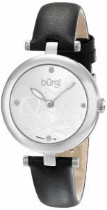 [バージ]Burgi 腕時計 Analog Display Japanese Quartz Black Watch BUR128SSB レディース [並行輸入品]