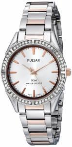 [パルサー]Pulsar 腕時計 Analog Display Analog Quartz Two Tone Watch PH8129X レディース [並行輸入品]