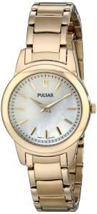 [パルサー]Pulsar 腕時計 GoldTone Watch with Link Bracelet PRW012 レディース [並行輸入品]