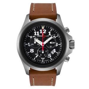 [アーマーライト]Armourlite 腕時計 Officer Series Chronograph Watch Brown Leather Band AL832 [並行輸入品]