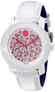 [モバード]Movado 腕時計 Bold Analog Display Swiss Quartz White Watch 3600262 レディース [並行輸入品]