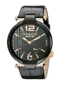 [マルコ]MULCO 腕時計 Couture Slim Analog Display Swiss Quartz Black Watch MW5-3183-025 メンズ [並行輸入品]