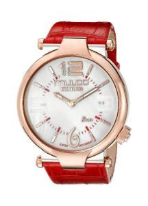 [マルコ]MULCO 腕時計 Couture Slim Analog Display Swiss Quartz Red Watch MW5-3183-063 レディース [並行輸入品]