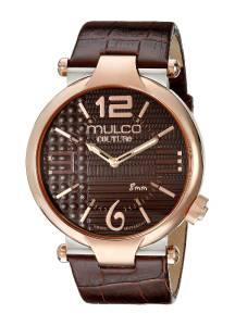 [マルコ]MULCO 腕時計 Couture Slim Analog Display Swiss Quartz Brown Watch MW5-3183-033 メンズ [並行輸入品]