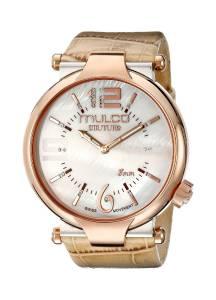 [マルコ]MULCO 腕時計 Couture Slim Analog Display Swiss Quartz Beige Watch MW5-3183-113 レディース [並行輸入品]