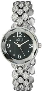 [バージ]Burgi 腕時計 Analog Display Japanese Quartz Silver Watch BUR124SSB レディース [並行輸入品]