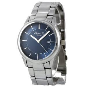 [ケネスコール]Kenneth Cole New York 腕時計 Blue Dial Watch Steel Bracelet 10021731 メンズ [並行輸入品]