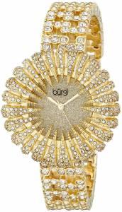 [バージ]Burgi 腕時計 Analog Display Analog Quartz Gold Watch BUR054G レディース [並行輸入品]