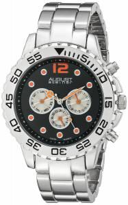 [オーガストシュタイナー]August Steiner 腕時計 Analog Display Swiss Quartz Silver Watch AS8158SSB メンズ [並行輸入品]