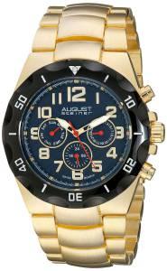 [オーガストシュタイナー]August Steiner 腕時計 Analog Display Swiss Quartz Gold Watch AS8161YGBU メンズ [並行輸入品]