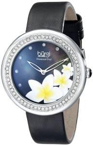 [バージ]Burgi 腕時計 Analog Display Japanese Quartz Black Watch BUR116BK レディース [並行輸入品]