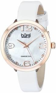 [バージ]Burgi 腕時計 Analog Display Japanese Quartz White Watch BUR119WTR レディース [並行輸入品]
