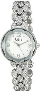 [バージ]Burgi 腕時計 Analog Display Japanese Quartz Silver Watch BUR124SS レディース [並行輸入品]