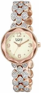 [バージ]Burgi 腕時計 Analog Display Japanese Quartz Rose Gold Watch BUR124RG レディース [並行輸入品]