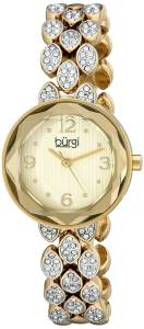 [バージ]Burgi 腕時計 Analog Display Japanese Quartz Gold Watch BUR124YG レディース [並行輸入品]