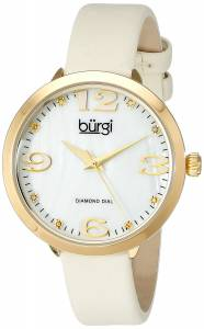 [バージ]Burgi 腕時計 Analog Display Japanese Quartz Beige Watch BUR119YG レディース [並行輸入品]