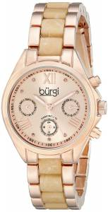 [バージ]Burgi 腕時計 Analog Display Swiss Quartz Two Tone Watch BUR130RGW レディース [並行輸入品]