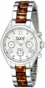 [バージ]Burgi 腕時計 Analog Display Swiss Quartz Two Tone Watch BUR130SS レディース [並行輸入品]