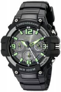 [カシオ]Casio 腕時計 Heavy DutyDesign Chronograph Black Watch MCW-100H-3AVCF メンズ [逆輸入]