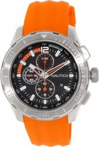 [ノーティカ]Nautica 腕時計 NST 101 Chrono Silicone Orange watch N18723G メンズ [並行輸入品]