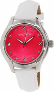 [ノーティカ]Nautica 腕時計 White Leather Quartz Watch N10508M レディース [並行輸入品]