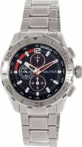[ノーティカ]Nautica 腕時計 Nst Silver StainlessSteel Quartz Watch N22636G メンズ [並行輸入品]