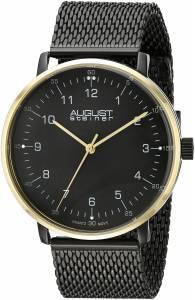 [オーガストシュタイナー]August Steiner 腕時計 Analog Display Swiss Quartz Black Watch AS8091BKG メンズ [並行輸入品]