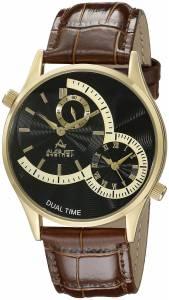 [オーガストシュタイナー]August Steiner 腕時計 Analog Display Japanese Quartz Brown Watch AS8010YGBR メンズ [並行輸入品]