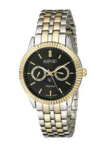 [オーガストシュタイナー]August Steiner 腕時計 Analog Display Swiss Quartz Two Tone Watch AS8050TTG メンズ [並行輸入品]