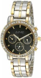 [オーガストシュタイナー]August Steiner 腕時計 Analog Display Swiss Quartz Two Tone Watch AS8041TTG レディース [並行輸入品]