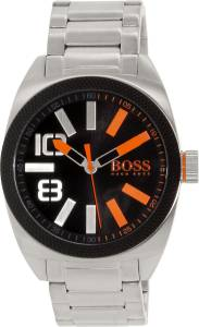 [ヒューゴボス]HUGO BOSS 腕時計 Hugo Boss Silver StainlessSteel Quartz Watch 1513114 メンズ [並行輸入品]