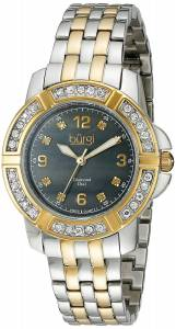 [バージ]Burgi 腕時計 Analog Display Swiss Quartz Two Tone Watch BUR069TTG レディース [並行輸入品]